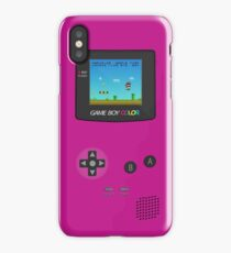 Nintendo Game Boy Super Mario Girly iPhone Case