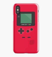 Retro Video Game Boy Console   iPhone Case/Skin
