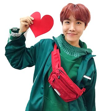 bts jhope with love :,) by draweedraws