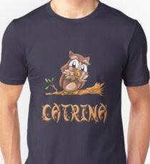 Catrina Owl Unisex T-Shirt