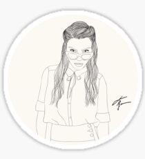 Lauren German Sticker