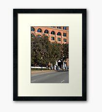 A Very Bad Shot Framed Print