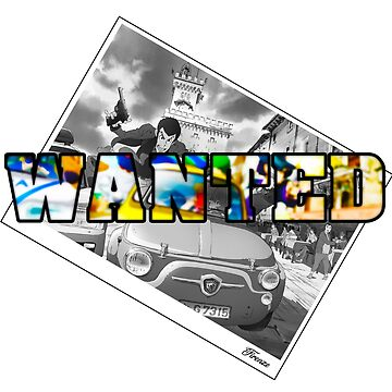 wanted Lupin In Florance - Firenze by RedXIV