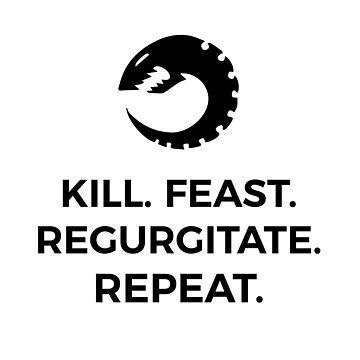 Tyranid Kill Feast Regurgitate Repeat by Purpleandorange