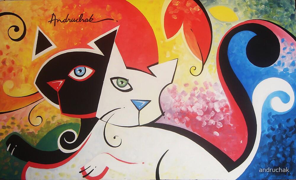 andruchak - white and black by andruchak