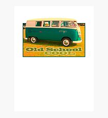 Camper Old School Photographic Print