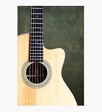 Acoustic Photographic Print