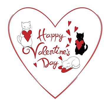 Happy Valentine's Cats de runcatrun