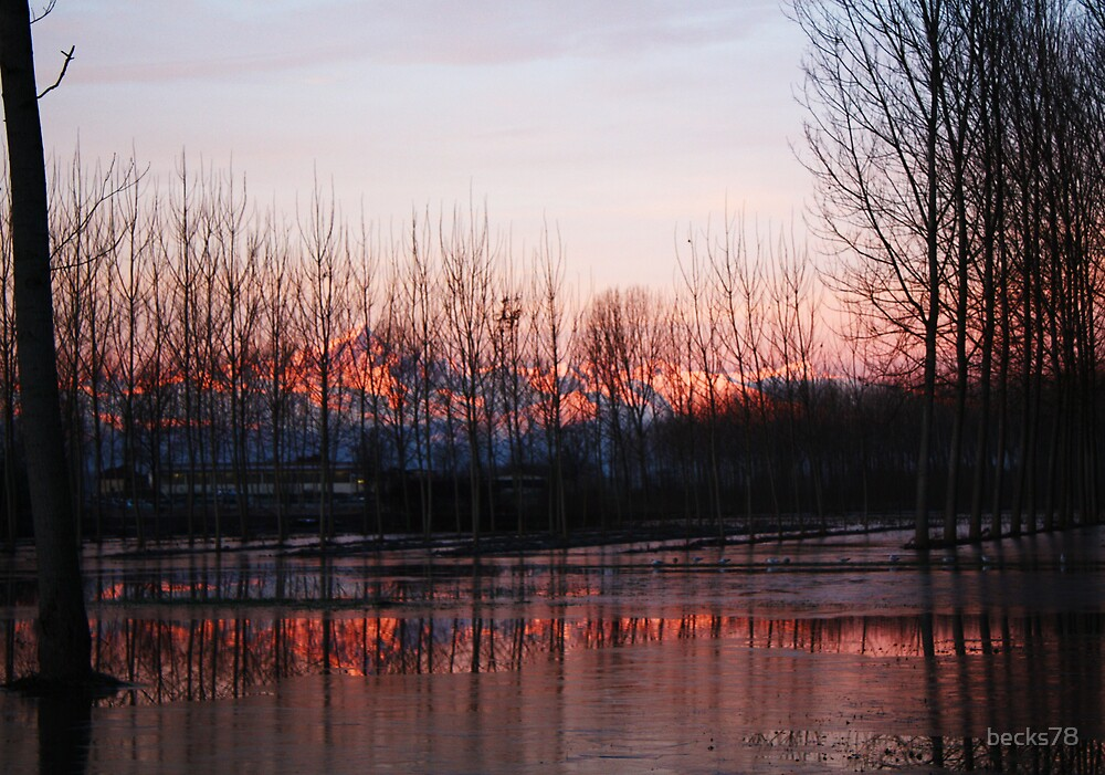 Monviso's reflection by becks78