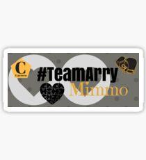 Team Arry Grey Mug Sticker