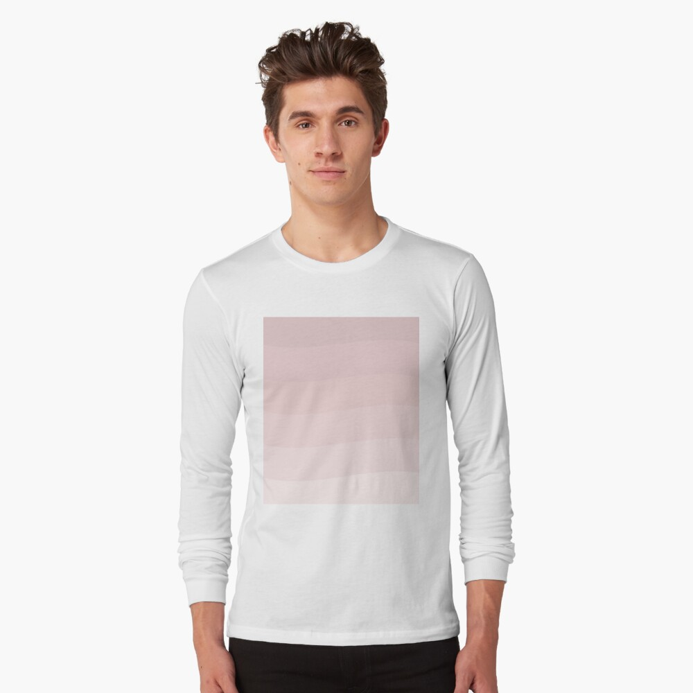 Pink wave. Long Sleeve T-Shirt