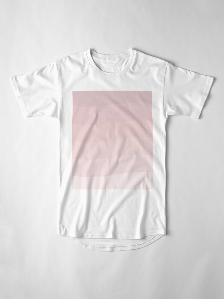 Alternate view of Pink wave. Long T-Shirt