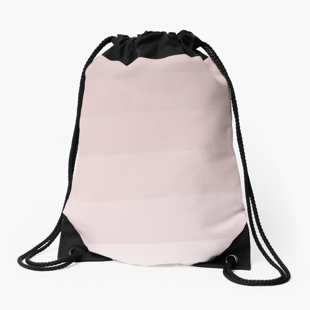 Pink wave. Drawstring Bag