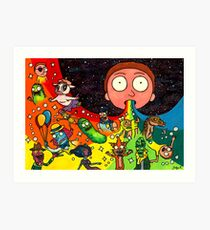 Rick's Dream Art Print