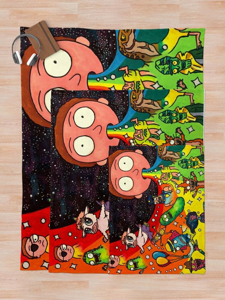 Alternate view of Rick's Dream Throw Blanket