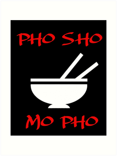 PHO SHO MO FO by Best-Design4u