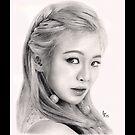 Girls' Generation Hyoyeon Kim by kuygr3d