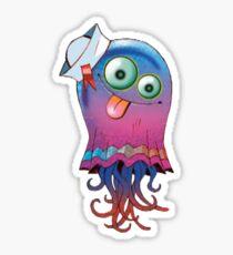 Superfast Jellyfish Gorillaz Sticker Sticker