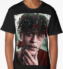 Red Roses Long T-Shirt