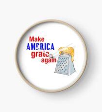 Make America Grate Again Clock