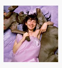 Hounds of Love Photographic Print