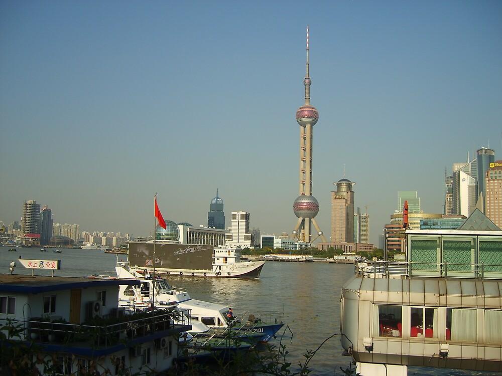 The Bund, Shanghai, China by GardeningArcher