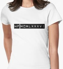 Numerals Women's Fitted T-Shirt