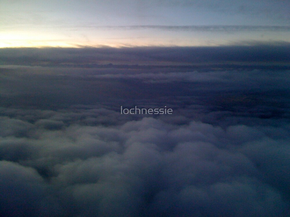 from a plane by lochnessie