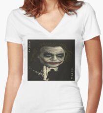 The GREAT JOKER Women's Fitted V-Neck T-Shirt
