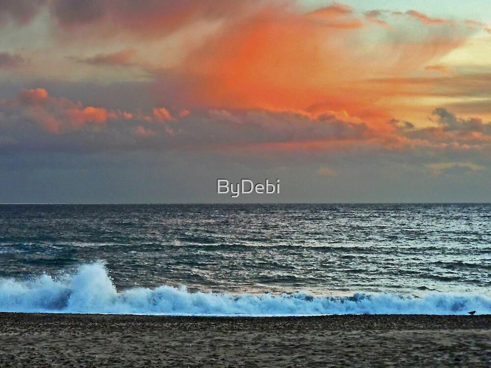 Orange Skies by ByDebi