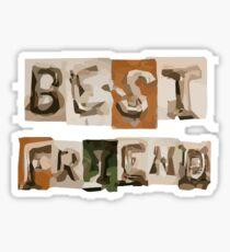 best friend rex orange county sticker and t shirt Sticker