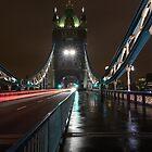 Tower Bridge at Night, London, UK by Seller2018KF