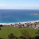Apollo Bay Panorama by Mike Salway