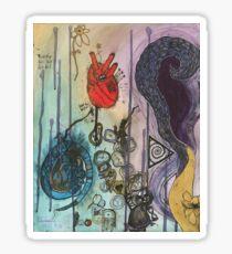 Life cycle rebirth Sticker