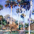 Palms, fine art painting by John Singer Sargent by virginia50