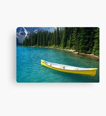 Magic on Moraine Lake  #8 Calendar Series   Canvas Print