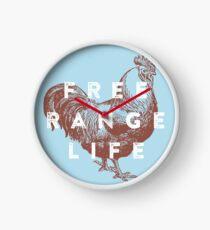 Free Range Life Clock