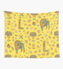 Lion, from the AlphaPod collection Wall Tapestry