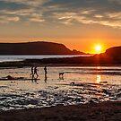 Daymer Bay, Cornwall sunset by Chris Warham