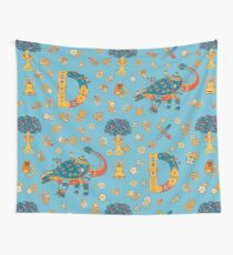 Dinosaur, from the AlphaPod collection Wall Tapestry