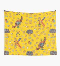 Kangaroo, from the AlphaPod collection Wall Tapestry