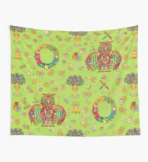 Owl, cool art from the AlphaPod Collection Wall Tapestry