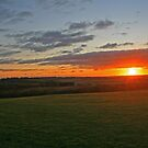 Meon Sunset by RedHillDigital