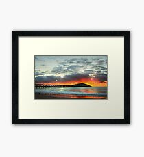 Coffs Harbour Sunrise Framed Print