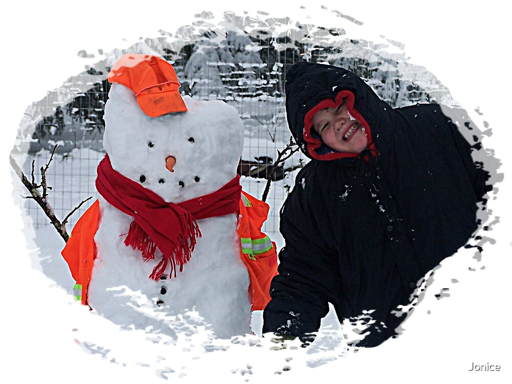 Michael And His Snowman by Jonice