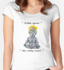 Stable Genius - Like, Really Smart Women's Fitted Scoop T-Shirt