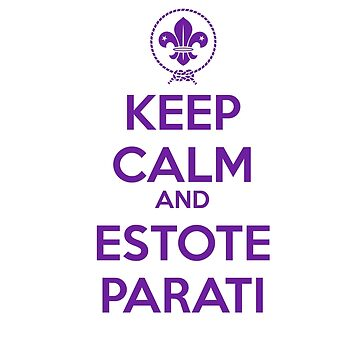 Keep Calm and Estote Parati by noirph