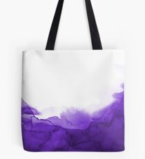 STORM PURPLE WATERCOLOUR Tote Bag