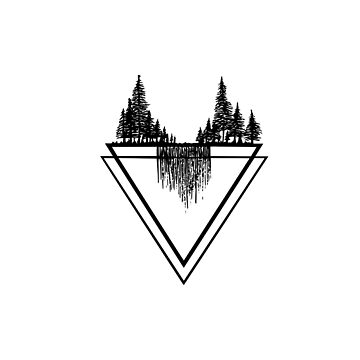 Trees and Triangles by drawintowonder
