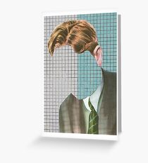 TOO LITTLE ON MY MIND. Greeting Card
